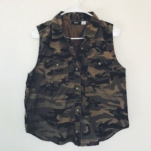 Urban Outfitters Camo Vest